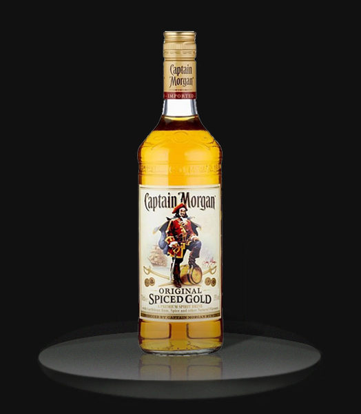 Captain morgan the boogaloo bali for Mix spiced rum with