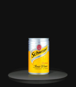 tonic water can